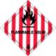 Brandfarligt fast stof
