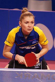 Daniela Dodean Romanian table tennis player