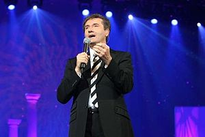 English: Daniel O'Donnell peforming at the O2 ...