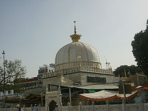 Ajmer Dargah bombing - Dargah of Moinuddin Chishti, the site of the attack.