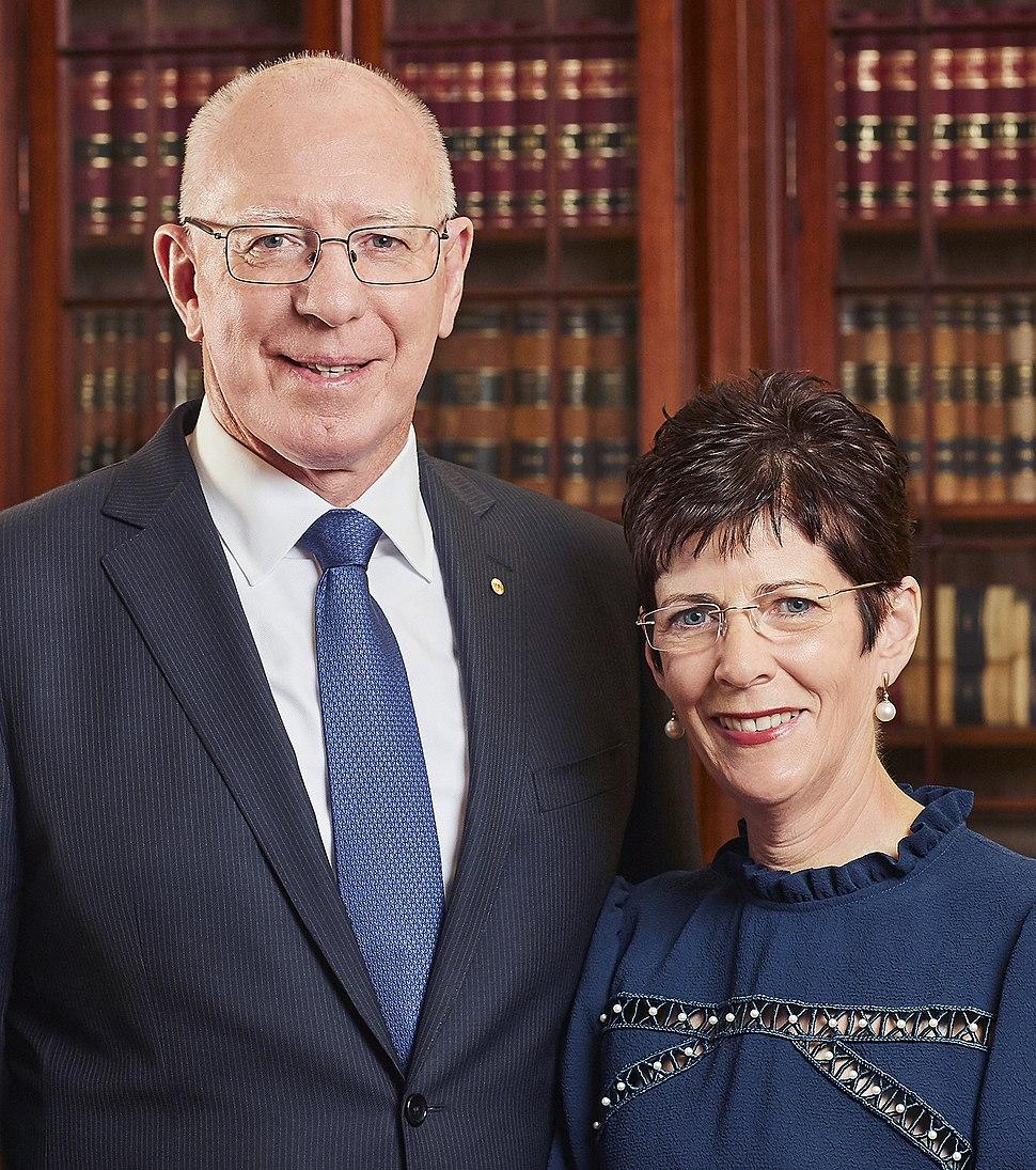 David and Linda Hurley portrait