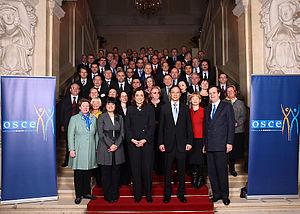 Dora Bakoyannis - OSCE Family Photo Vienna 15-01-2009