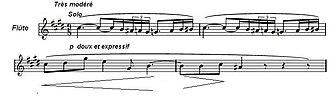 Tritone - Image: Debussy après midi d'un faune