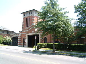Capital Traction Company - The Decatur Street Car Barn, built in 1906 by Capital Traction.
