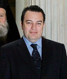 Verklaringsceremonie van de aartsbisschop Ieronymos II van Athene Evripidis Stylianidis portratait.jpg