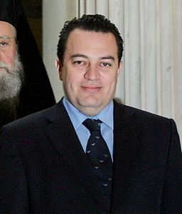 Declaration Ceremony of the Archbishop Ieronymos II of Athens Evripidis Stylianidis portratait