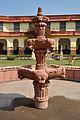 Decorative Fountain - Courtyard - Government Museum - Mathura 2013-02-24 6514.JPG