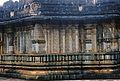 Decorative swirls and relief on mantapa wall at Amruteshvara temple in Amruthapura, Chikkamagaluru district1.JPG