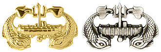 Badges of the United States Navy - Deep Submergence insignias