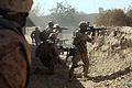 Defense.gov News Photo 101102-M-5881H-248 - U.S. Marines with India Company 3rd Battalion 5th Marine Regiment provide covering fire for fellow Marines as they move out of a danger area.jpg