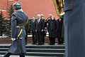 Defense.gov News Photo 110322-D-XH843-011 - Secretary of Defense Robert M. Gates and his wife Becky participate in a welcoming ceremony at the Tomb of the Unknown Soldier in Moscow Russia.jpg