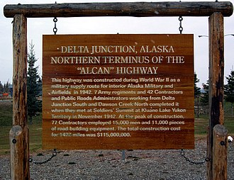 Delta Junction, Alaska - Image: Delta Junction