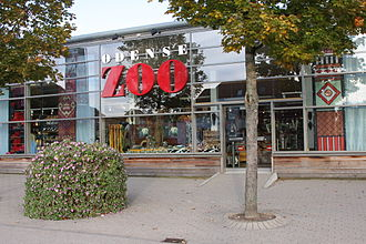 Odense Zoo - Main entrance
