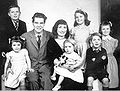 Denys Val Baker and family.jpg