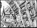 Detail plattegrond Blaeu met kerk en looihal - Gouda - 20081341 - RCE.jpg
