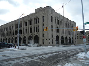 The Detroit News - Detroit News and Free Press Building, the newspaper's home 1917-2014