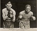 Dick Humphreys, 10 st. 6 1-2 lbs., and Tommy Jones, 10 st. 8 3-4 lbs., who met at Rushcutter's Bay Stadium on September, 23rd, 1935 (34735920492).jpg