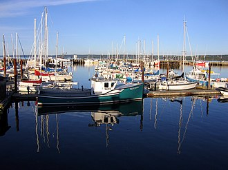 Digby, Nova Scotia - Image: Digby Harbour Annapolis Basin