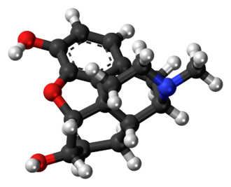 Dihydromorphine - Image: Dihydromorphine 3D ball