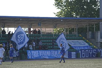 FC Dynamo Saint Petersburg - Dynamo in action