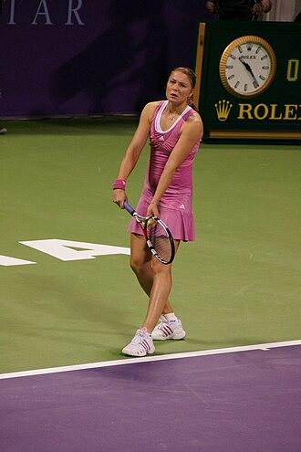 Dinara Safina - Safina at the 2008 WTA Tour Championships