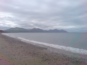 Gwydion - Dinas Dinlle, Gwydion's final resting place.