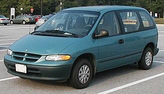 Chrysler minivans (NS) - 1996 Dodge Caravan (no driver-side sliding door)