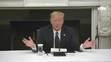"Fichier:Donald Trump - Hydroxychlroquine ""I Happen to Be Taking It"".webm"