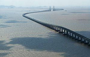 Science and technology in China - Donghai Bridge