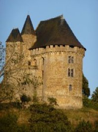 "Wynebald de Ballon - Donjon de Ballon, ""Gateway to Maine"". The surviving structure dates from 12th to 15th centuries"