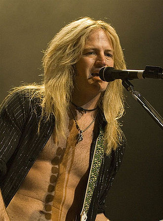 Doug Aldrich - Aldrich performing live with Whitesnake in 2008