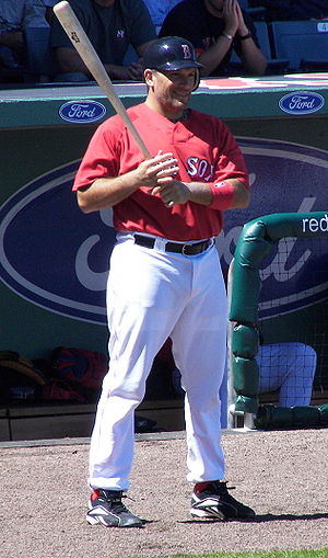 Doug Mirabelli - Mirabelli on-deck during 2007 spring training.