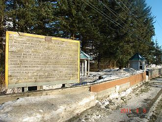 Taku people - Resting place of several members of the Taku Indians' Raven Clan on Juneau, Alaska's Douglas Island.