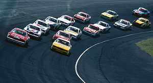 Dover International Speedway - Dover's asphalt surface in 1985
