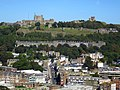 Dover Castle, from the Western Heights.jpg