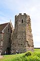 Dover Castle - Roman lighthouse and St. Mary in Castro.jpg
