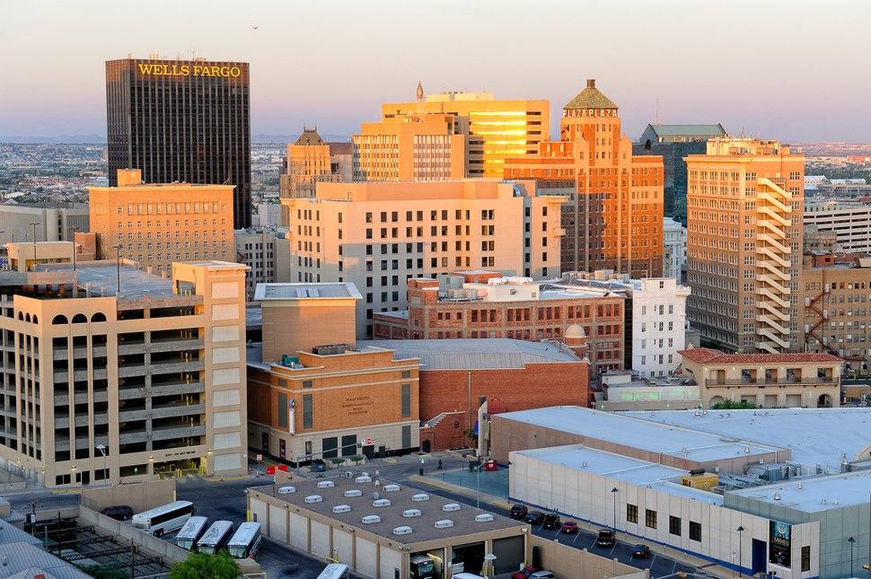 Downtown El Paso at sunset.jpeg