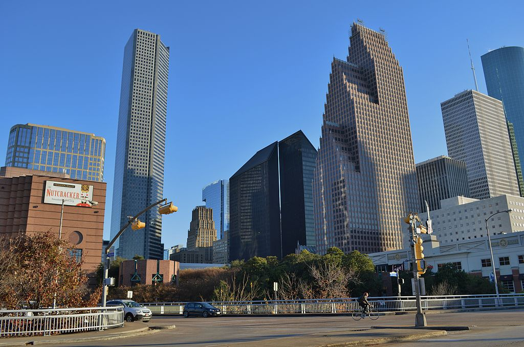 Houston From Balconies And Parking Garages And A Few From