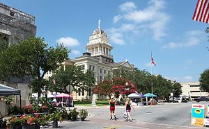 Belton, Texas - Downtown Belton near Bell County Courthouse