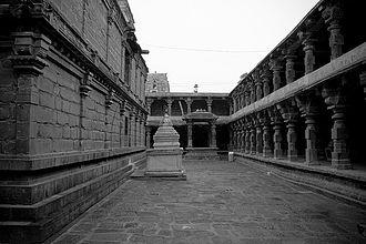 Draksharama - Inside view of the temple