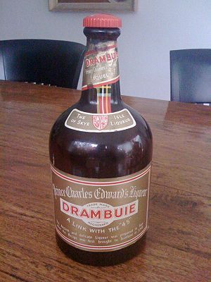 Drambuie - Drambuie in an older packaging style