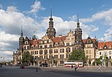 Dresden, Schloss Dresden Dm vanaf de Sophienstrasse IMG 8188 2018-08-14 18.16.jpg