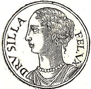 Drusilla of Mauretania the Younger - Drusilla from Promptuarii Iconum Insigniorum