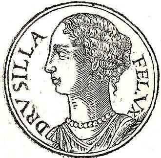 Drusilla of Mauretania the Younger - Drusilla from Promptuarii Iconum Insigniorum
