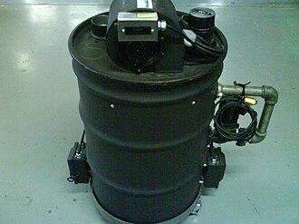 Fog machine - Generic Dry Ice machine made from a 3G. drum.
