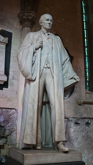 Gerald FitzGibbon (Irish lawyer) - FitzGibbon's statue in St. Patrick's Cathedral, Dublin.