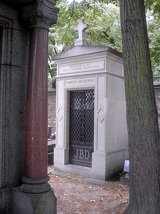 Jean-Baptiste Dumas - Grave of Dumas (Paris)