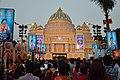Durga Puja Pandal - Baghbazar Sarbojanin Durgotsav - Nivedita Park - Kolkata 2014-10-03 9250.JPG