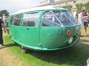 Dymaxion car - 2010 replica of 1933 Dymaxion, by Norman Foster