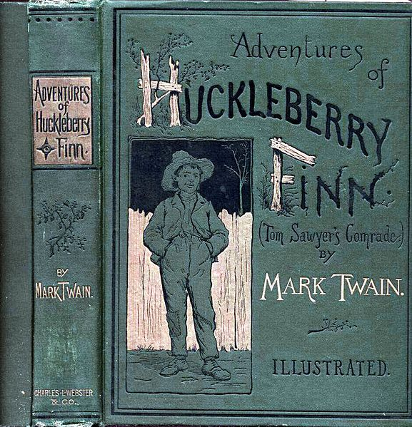 File:E. W. Kemble - Adventures of Huckleberry Finn Cover.jpg